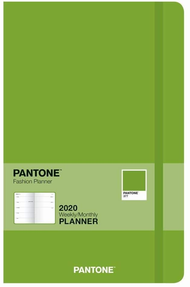 BrownTrout, Pantone Compact Planner (Fern Green) 2020