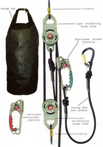 MSA SRS15400 Rescue Utility System, 400' Length