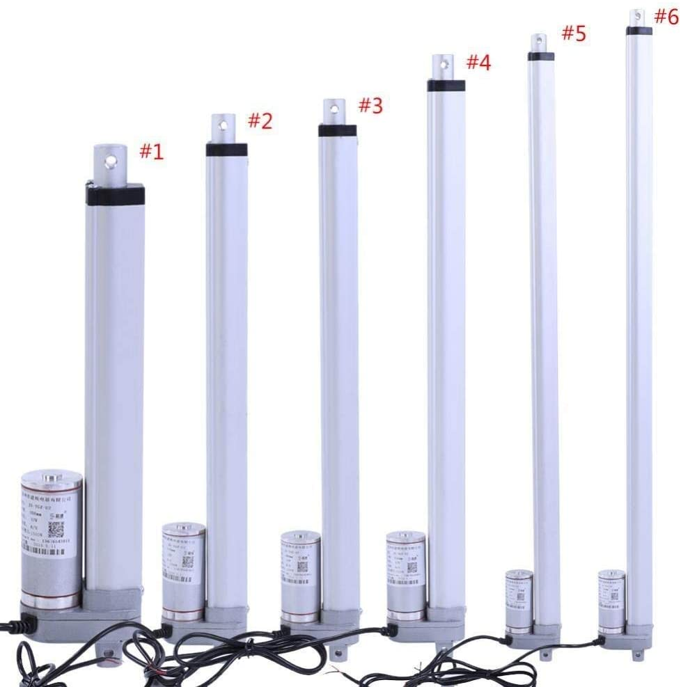 DSY Linear drive, DC12V linear actuator 200mm, 350mm, 400mm, 450mm, 700mm, 750mm stroke electric motor, maximum drawer 1500N (Size : 500mm)