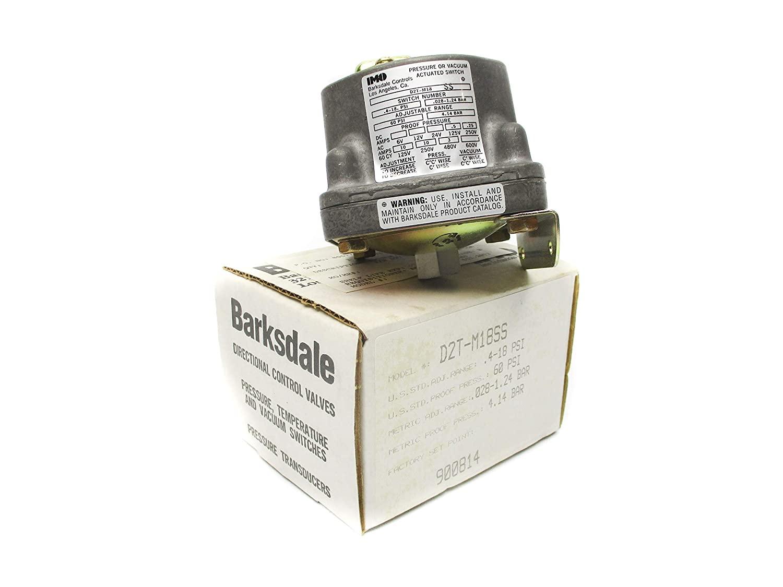 Barksdale D2T-M18SS 60 PSI NSMP