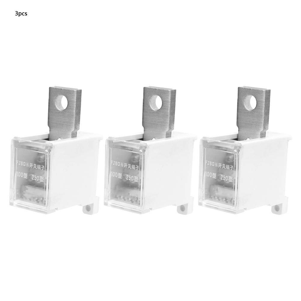 Terminal Block,1 in 12 Out Pin Plug Branches Circuit Breaker Mounting Terminal Block Connector for Air Breaker Switch