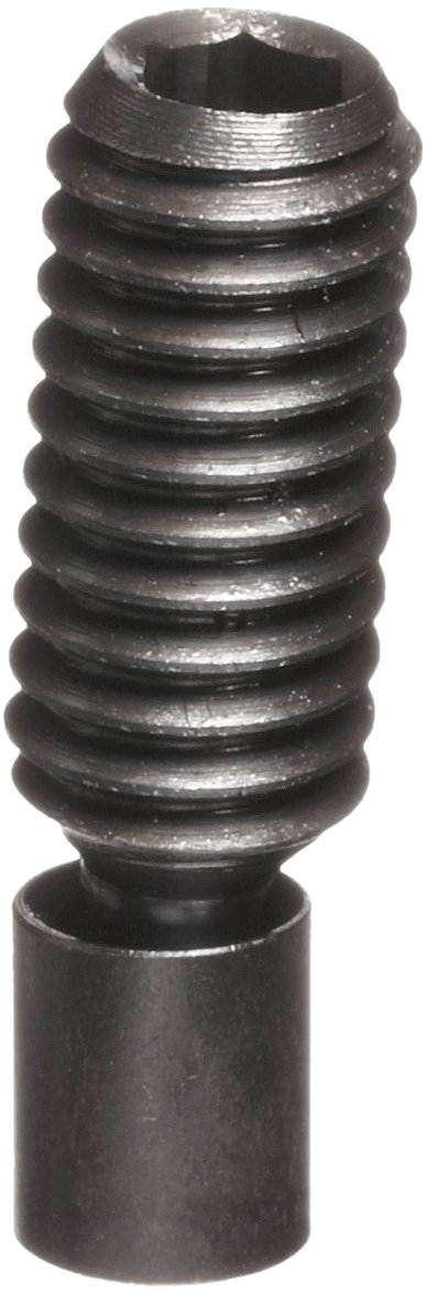 TE-CO 31232S Hex Socket Swivel Screw Clamp With Small Pad Black Oxide, 5/16-18 Thread x 1-1/50