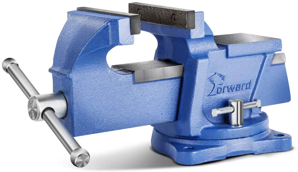 Forward 0804 4-Inch Bench Vise with Swivel Base and Anvil (4