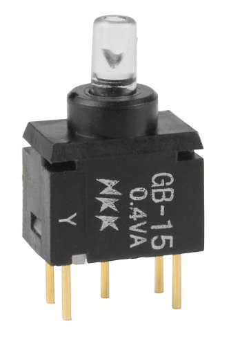 NKK Switches Part Number GB15JPD