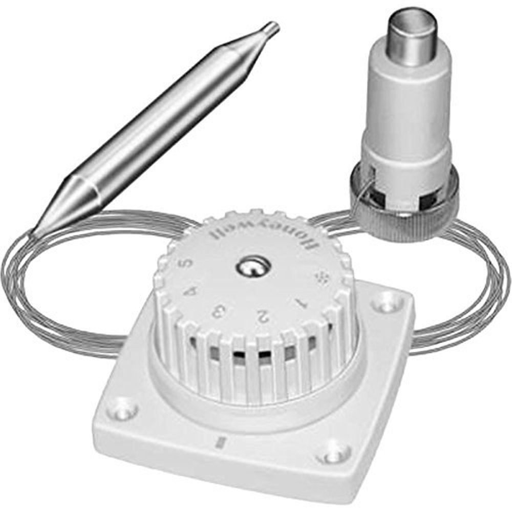 Honeywell T104C1036 High Cap Thermostatic Radiator Actuator, Used with Valve: V110, Two 1.4 m Capillary Length