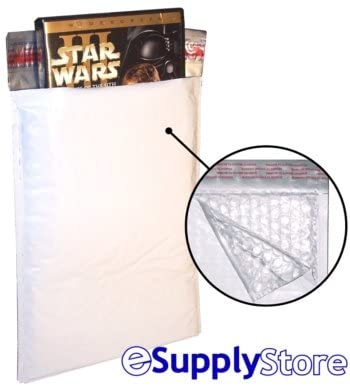 #DVD POLY BUBBLE MAILER PADDED ENVELOPES-100ct