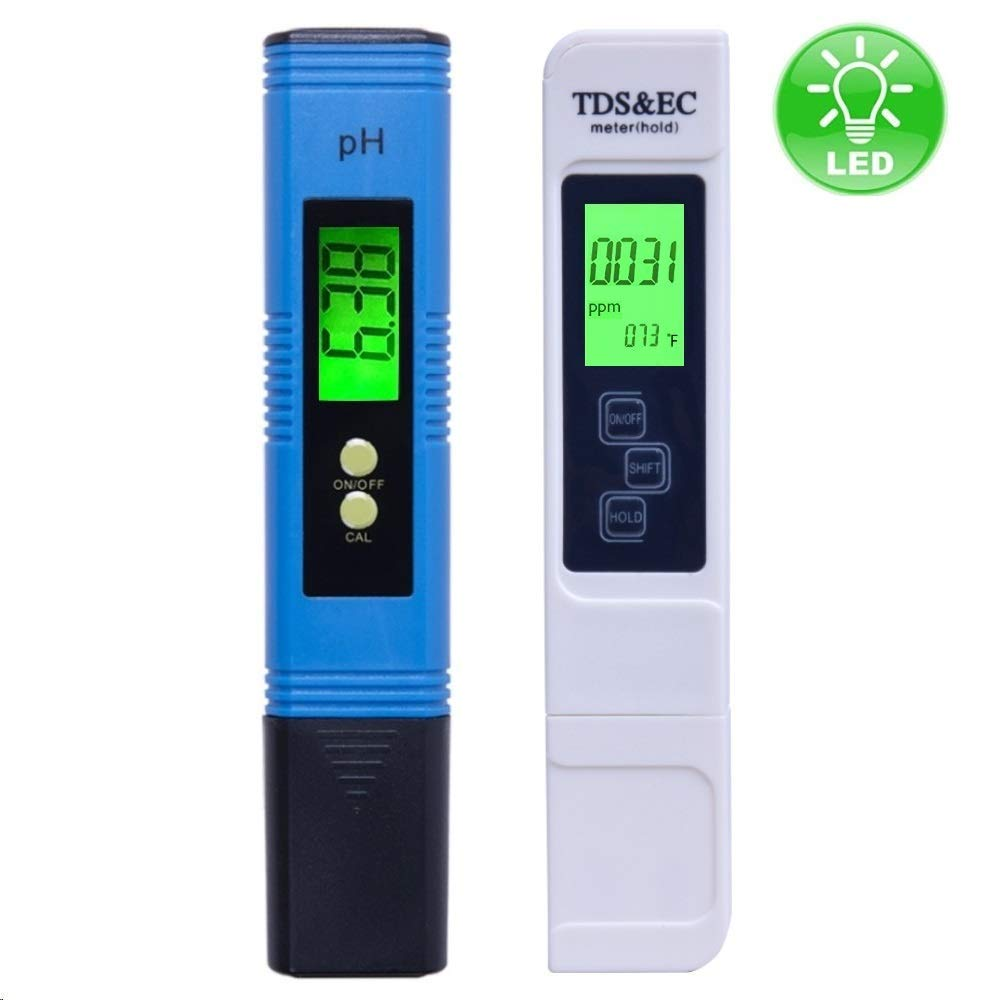 Sunzeal TDS & pH Meter Digital Water Tester…