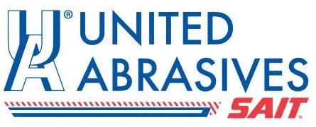 United Abrasives SAIT 77835 3X1/2X1/4 Non-Woven Aluminum Oxide Grain Unitized Wheels, 10 pack