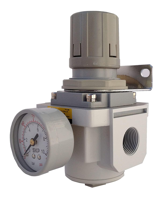 PneumaticPlus SAR4000M-N04BG Air Pressure Regulator 1/2