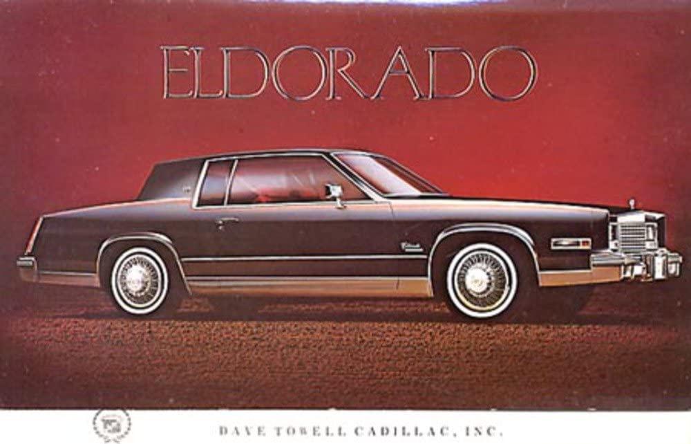 bishko automotive literature Mailer Invitation to Test Drive Dealer Advertisement for The 1979 Cadillac Eldorado