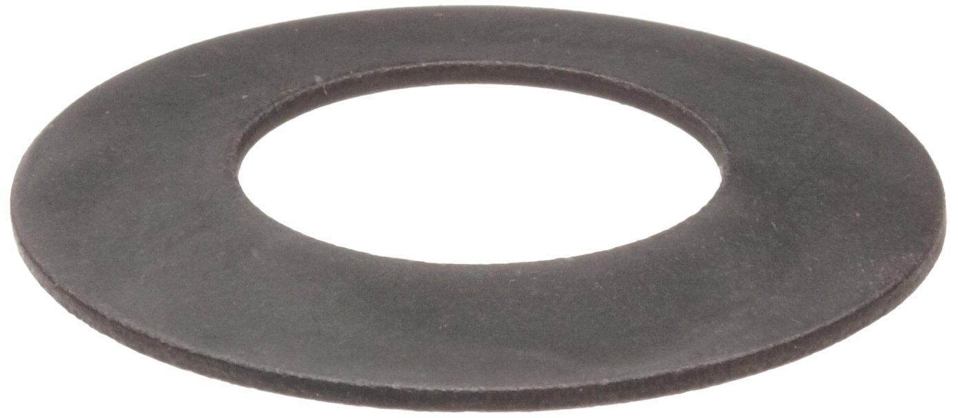Metric Chrome Vanadium Belleville Spring Washers, 25.4 millimeters Inner Diameter, 50 millimeters Outside Diameter, 3.9 millimeters Free Height, 2.85 millimeters Compressed Height, 9058 newtons Max. Load (Pack of 10)