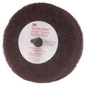 3M Scotch-Brite Scuffing Wheel General Purpose 07443, 4