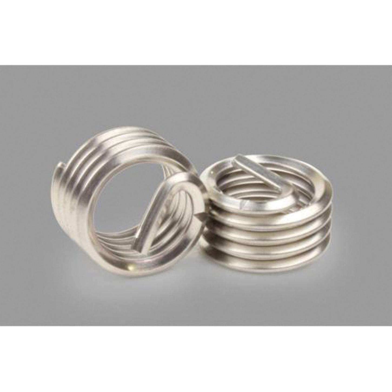 Kato TNC-02C-0172 Tanged Free-Running Coil Threaded Insert, 2-56 UNC, 2D/0.172 Inch Length, 304 SST (100 PK)