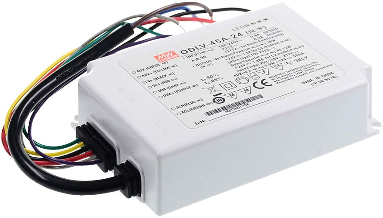 Meanwell ODLV-45-60 60V 0.75A 45W PWM Output LED Driver