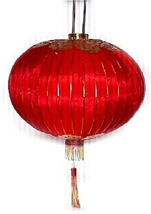 Traditional Red Silk Lantern 28