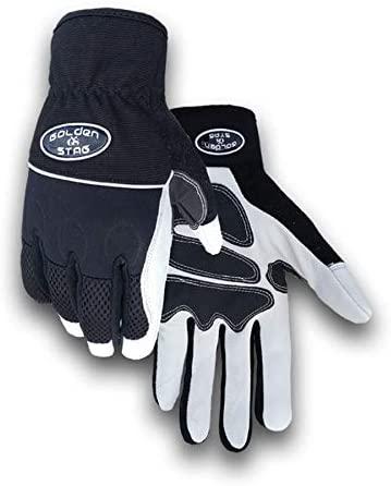 Golden Stag Work Glove Heavy Duty Goatskin Mechanics Glove, Large, 16