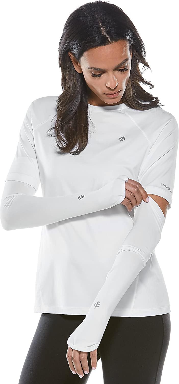 Coolibar UPF 50+ Women's Backspin Performance Sleeves - Sun Protective