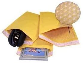 Yens Fantasy Buy Kraft Bubble Padded Envelopes Mailers, 500 Piece