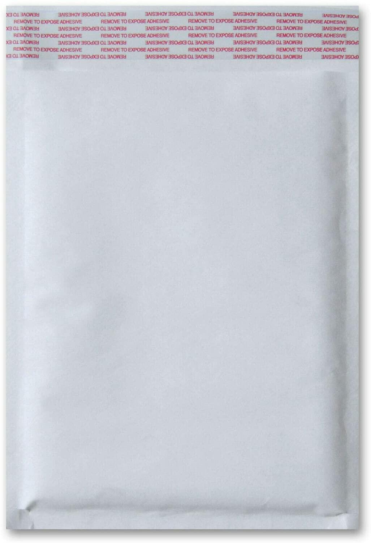 White Kraft Bubble Mailers Shipping Mailing Padded Envelopes Self Adhesive Bag 14.25