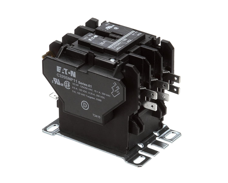Contactor Switch, 3P, 30A/Aux