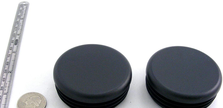 RTR_SJHTRA 10 Pieces of Black Plastic Finishing Plugs 2 1/2