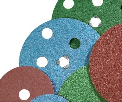 AVOS Edger Speed-Lok Discs, Zirconia Alumina, 4 1/2 in Dia., 50 Grit - 10 Each