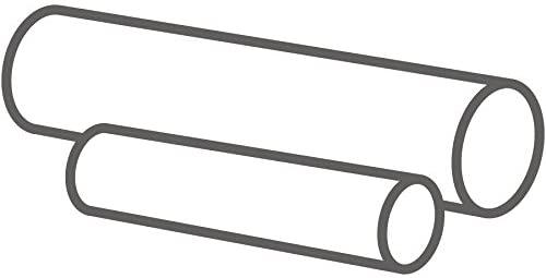 MJ May G15-TRCE-.875-3 PTFE (Teflon) Rod, White