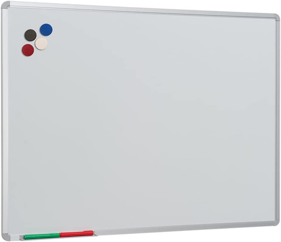 Spaceright Europe 120 x 90 cm Vitreous Enamel Steel VES Writing Board