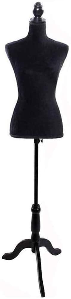 Female Mannequin Dress Form Torso Tripod Stand Display