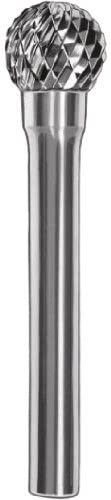 SGS Tool Company 20310 SD-3M Deep Double Cut Bur Ta Carbide Bur 3/8 Diameter 6mm Shank Diameter