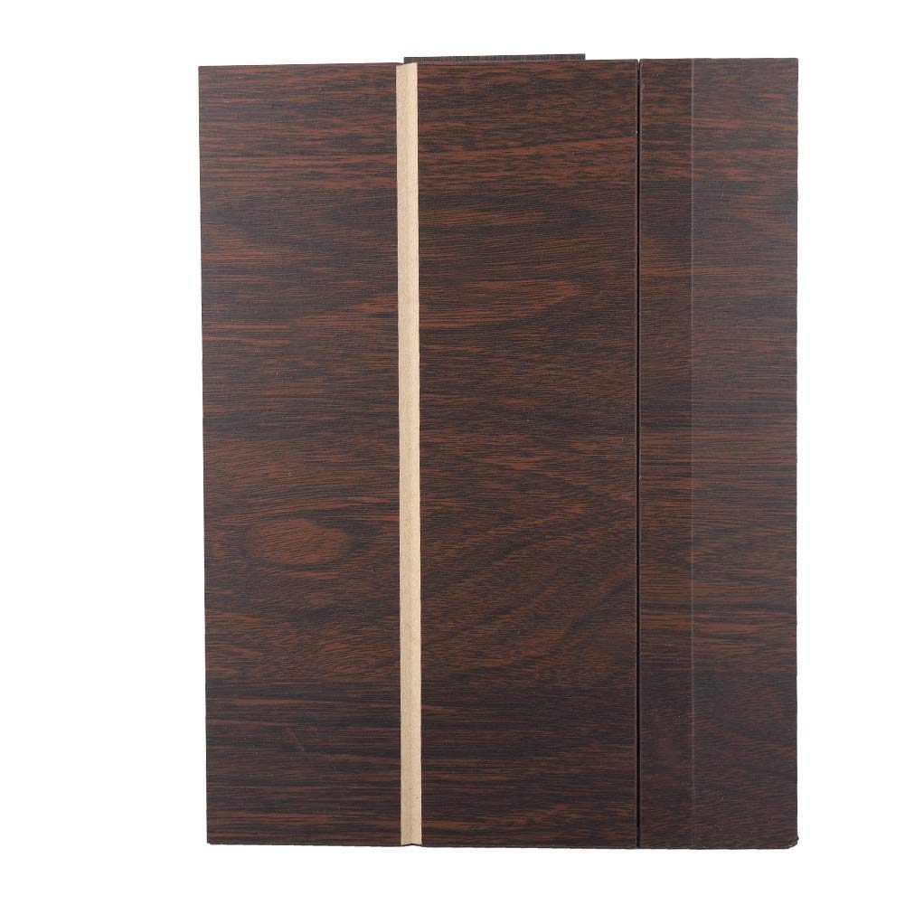 Screen Magnifier - 14in Wood Grain Screen Amplifier HD Mobile Phone Screen Magnifier Video Amplifier Folding Stand (咖啡色)