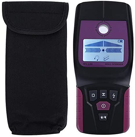 Stud Finder Wall Scanner, Multi-Scanner Wall Detector Center Finding with LCD display for bolts/wood/metal/live AC cable detection