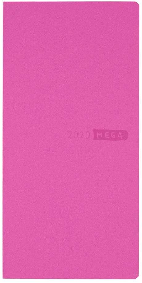 Hobonichi Sneaker Raspberry Weeks Mega Softcover Book (Japanese/Jan 2020 Start/Mon Start) …