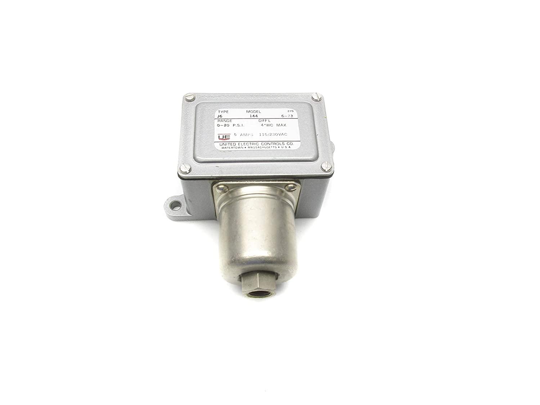 United Electric Controls J6-144 0-20PSI NSNP