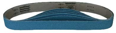 Sanding Belts 2 X 42 Zirconia Cloth Sander Belts, 18 Pack (80 Grit)