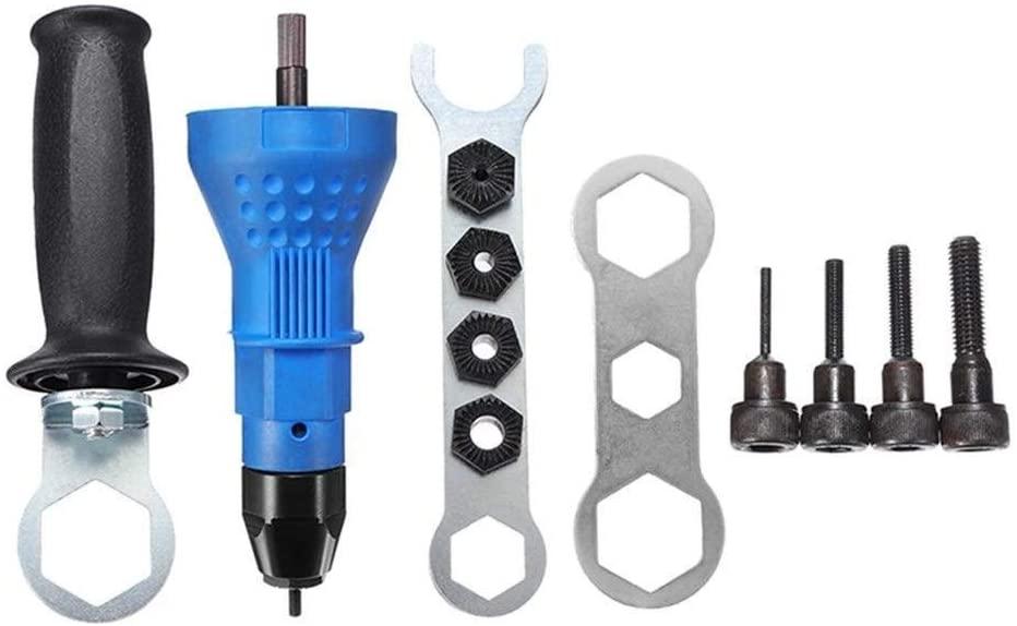HYY-YY Tool Electric Rivet Tool Nut Gun Attachment Cordless Drill Adapter Insert Riveter Riveting Tool Drill attachment