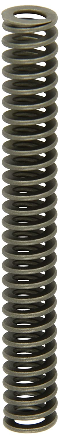 Heavy Duty Compression Spring, Chrome Silicon Steel Alloy, Inch, 0.75 OD, 0.075 x 0.165 Wire Size, 5.5 Free Length, 4.125 Compressed Length, 75.6lbs Load Capacity, 55lbs/in Spring Rate  (Pack of 5)