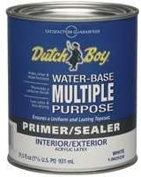 DUTCH BOY/PRATT & LAMBERT 1.0029220-44-Quart Latex Interior/Exterior Primer