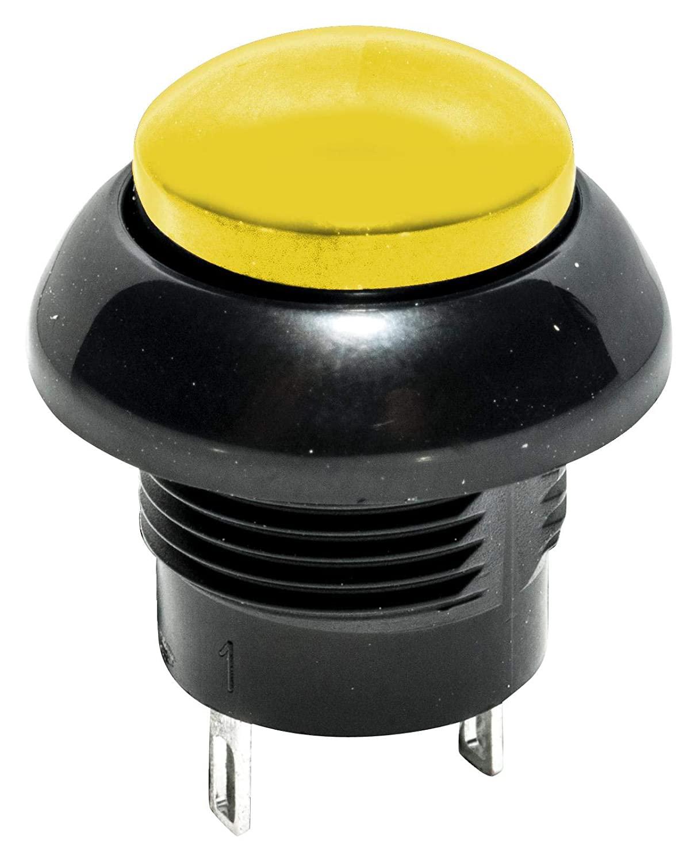 C & K COMPONENTS PNP8E5D2C03QE PB Switch, SPDT, 5A, 32VDC, Solder
