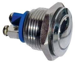 BULGIN MP0042/2 SWITCH, INDUSTRIAL PUSHBUTTON, 16MM (5 pieces)