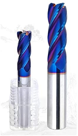 4Flutes 10mm,12mm Solid Carbide Corner Rounding End Mills CNC Milling Cutter HRC65 Tungsten Steel Router Bits (10D100L)