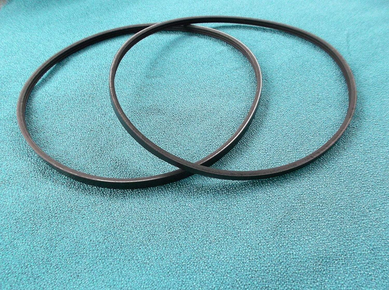 Drive Belts Set For - RIKON 70-105 MINI LATHE - High Strength Rubber Belts.