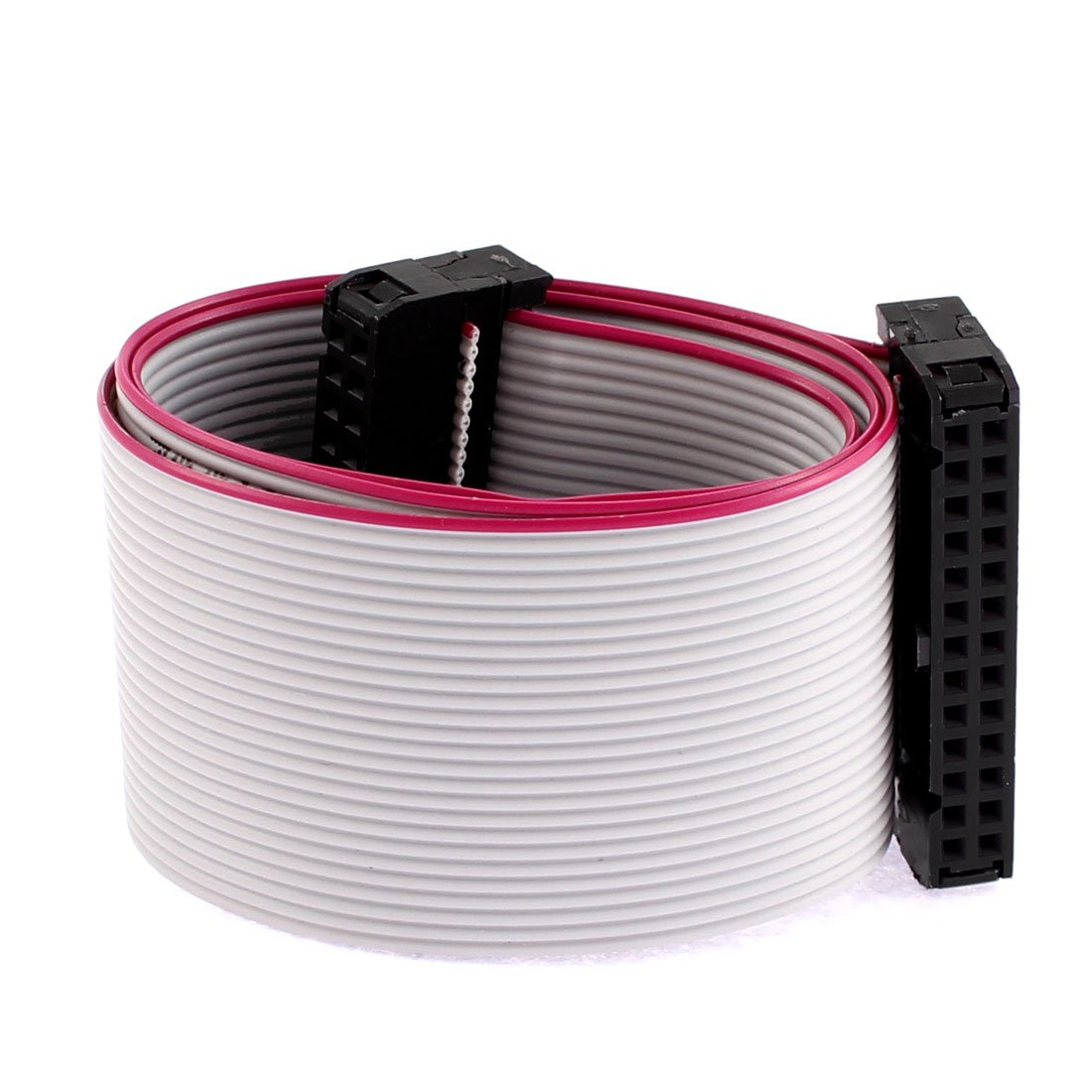 Uxcell IDC Flat Ribbon Cable, 26 Pin, 26 Wire, 2.54 mm Pitch, 40 cm Length