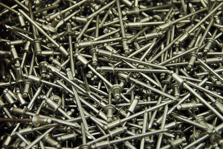 (300) 1/8 x 1/8 Stainless Steel Blind Pop Rivet SSB42S 42 Dome Head 42STSTD