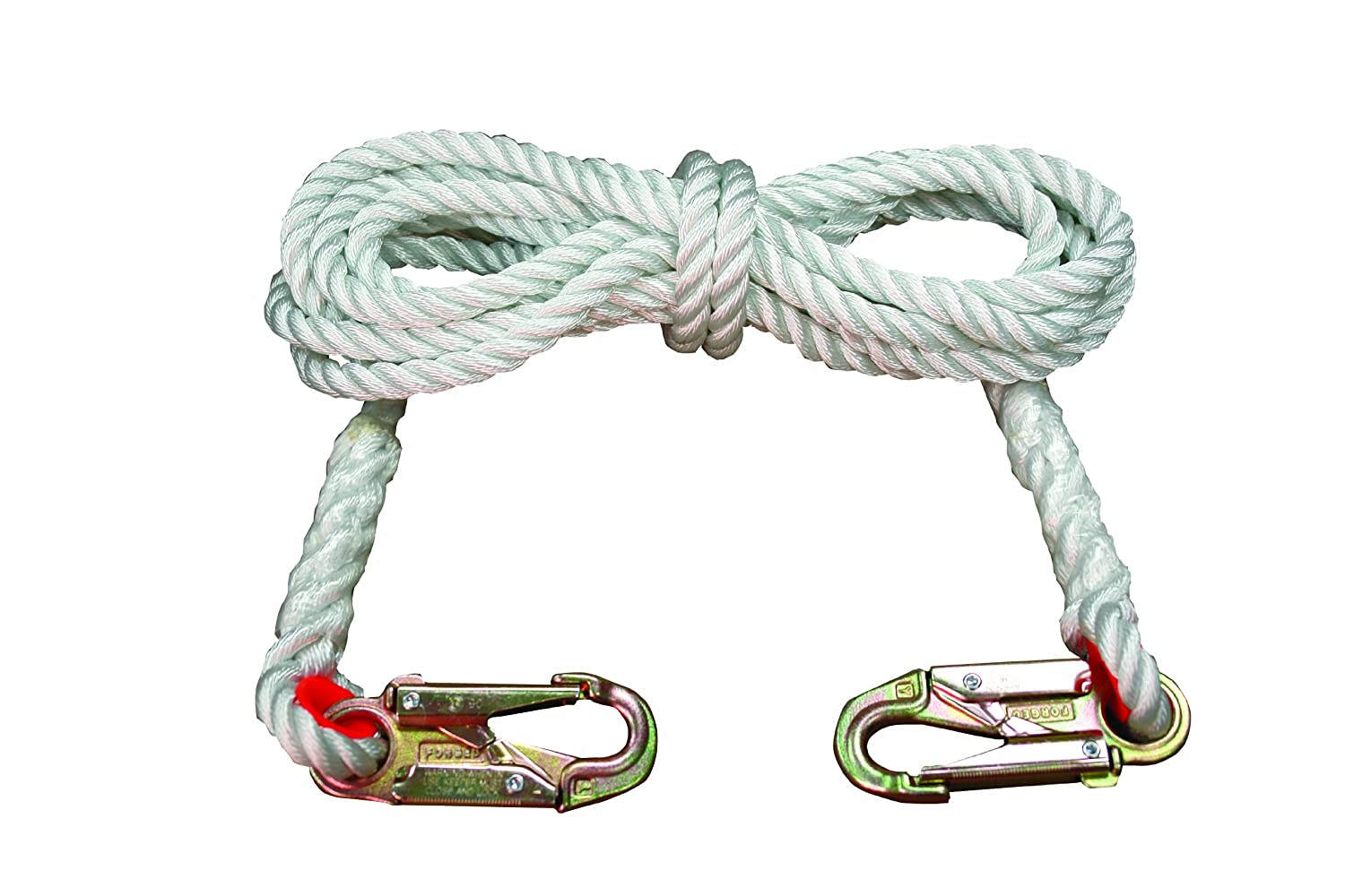 Elk River 34150 Nylon Rope Lifeline with Zsnaphook, 3600 lbs Gate, 5/8
