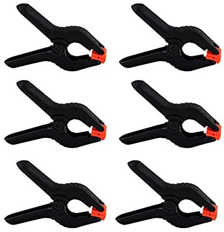 6 Pack Heavy Duty Spring Clamps,