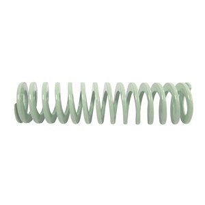 Die Spring, Ultra Light Duty, Closed & Ground Ends, Light Green, 20mm Hole Diameter, 10mm Rod Diameter, 152mm Free Length, 4.9 newtons Spring Rate (Pack of 10)
