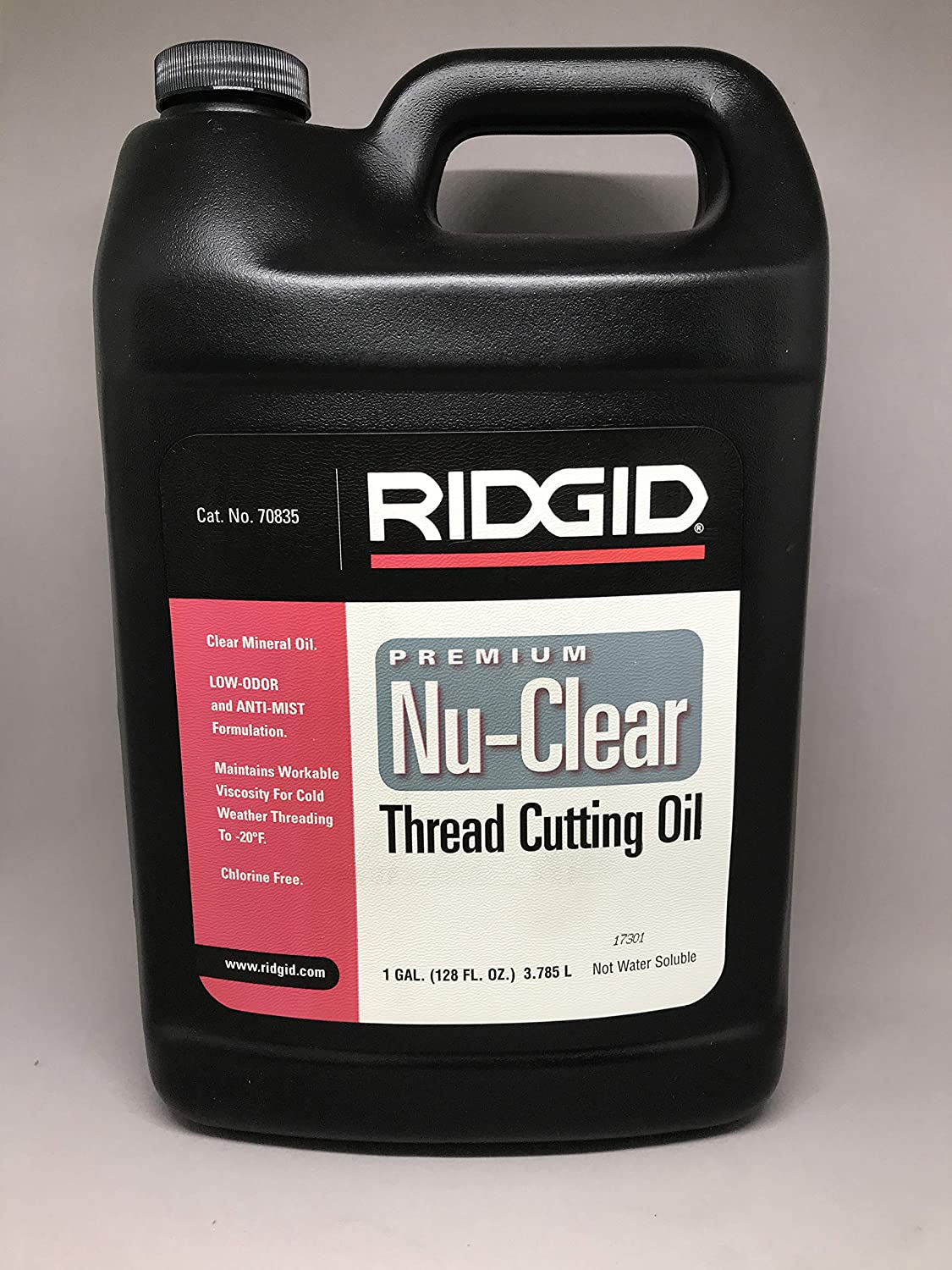 Ridgid 70835 Ridgid Thread Cutting Oil Nu-Clear 1 gal