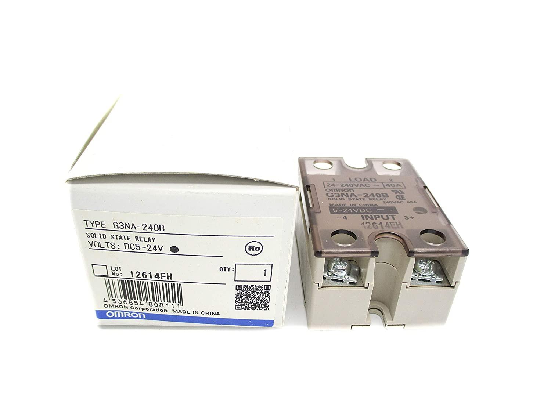 OMRON G3NA-240B 24/240VAC 40A 5/24VDC NSMP