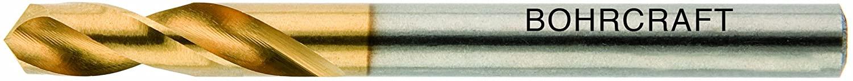 Bohrcraft Spiral Drill Bit HSS-E DIN 1897Typ N, Profi Plus 3mm in Quadro Pack (1Pack of 12660300300